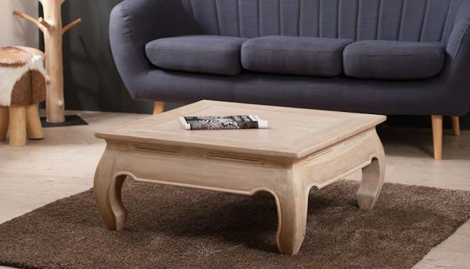 Table opium 80 x 80cm DIANE