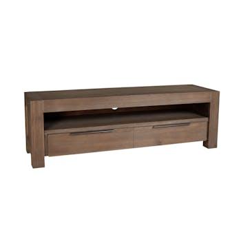 Meuble TV NANY acacia 140 cm 1 tiroir