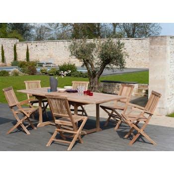 Salons de jardin en bois : teck, acacia...| Mobilier de ...