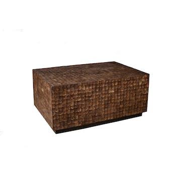 Table basse COCO café 90x60cm