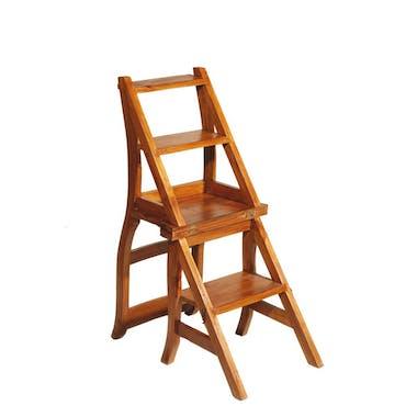 Chaise libraire teck miel BISHO