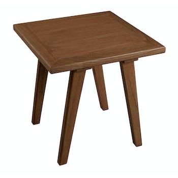 Table d'appoint bois cannelle 45x45x46 FANNY
