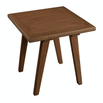 Table d'appoint bois cannelle 45x45x46 FANNY