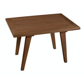 Table d'appoint rectangulaire bois 70x50x45 FANNY