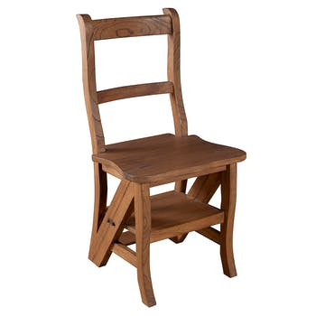 Chaise libraire exotique L44 X P47 X H90CM LOUNA