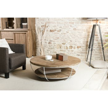 Table Basse Ronde Pier Import