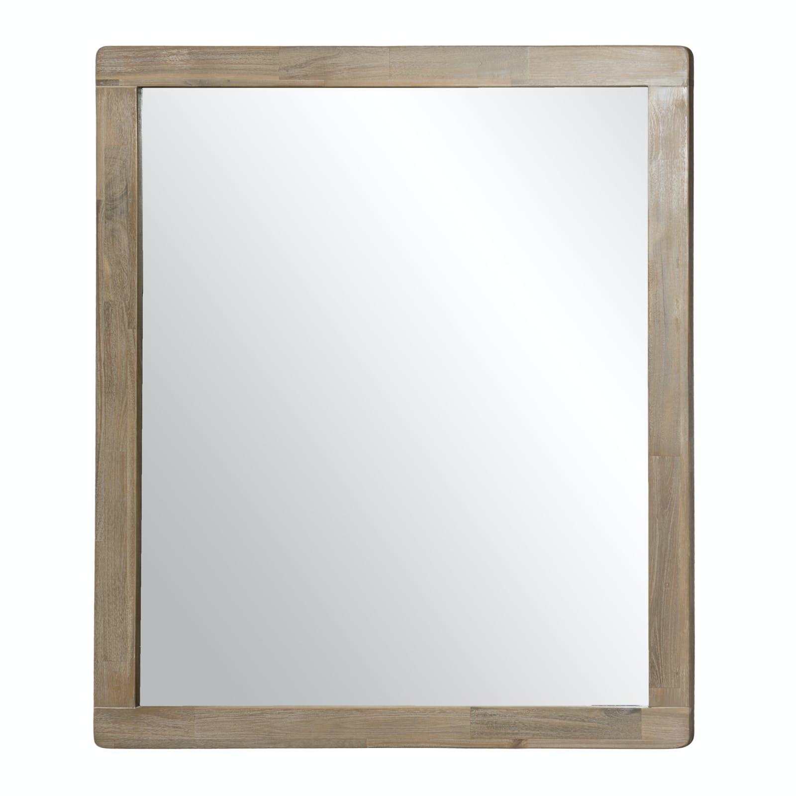 Miroir en Acacia massif 120x100cm PALMEIRA