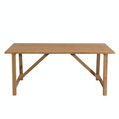 Table de Jardin Teck 180x90cm BERGEN ref. 30020834