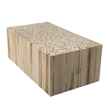 Table basse teck 110x60 cm Jaipur