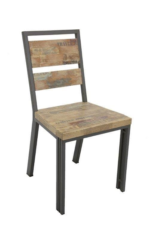 Fauteuils de table et chaises : tissu, bois  Meubles de