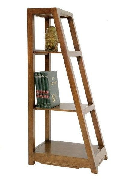 Etagère bibliothèque hévéa 60x130cm MAORI