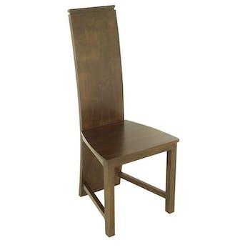 Chaise moderne hévéa massif HELENA