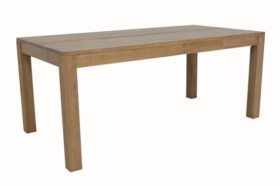 Table à manger rectangulaire bois massif 180 GALA