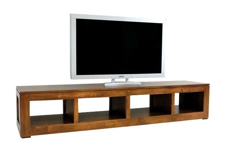 Meuble TV hévéa 200cm HELENA