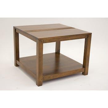Table basse hévéa 60x60cm GALA
