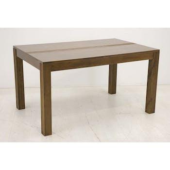 Table repas hévéa 140x90cm GALA