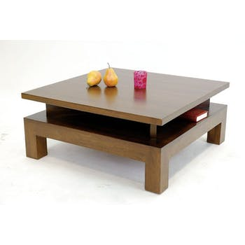 Table basse hévéa 80CM HELENA