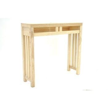 Console bois massif style colonial MAORI