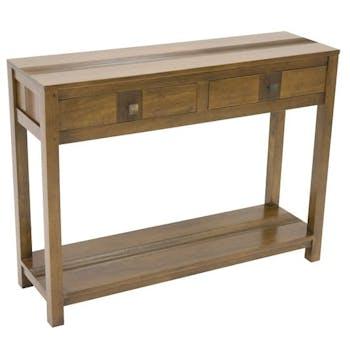 Console bois massif style rétro GALA