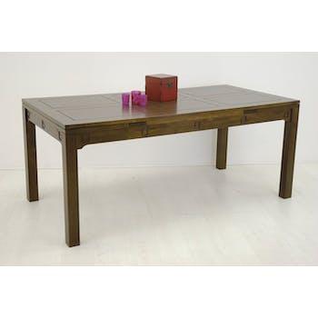 Table repas extensible hévéa 180/260cmTESSA