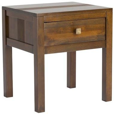 Table de chevet bois style rétro GALA