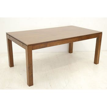 Table repas extensible hévéa 180/260cm HELENA