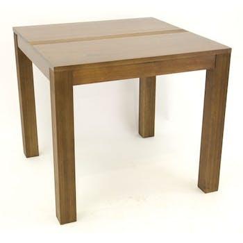 Table à manger hévéa 85x85cm GALA