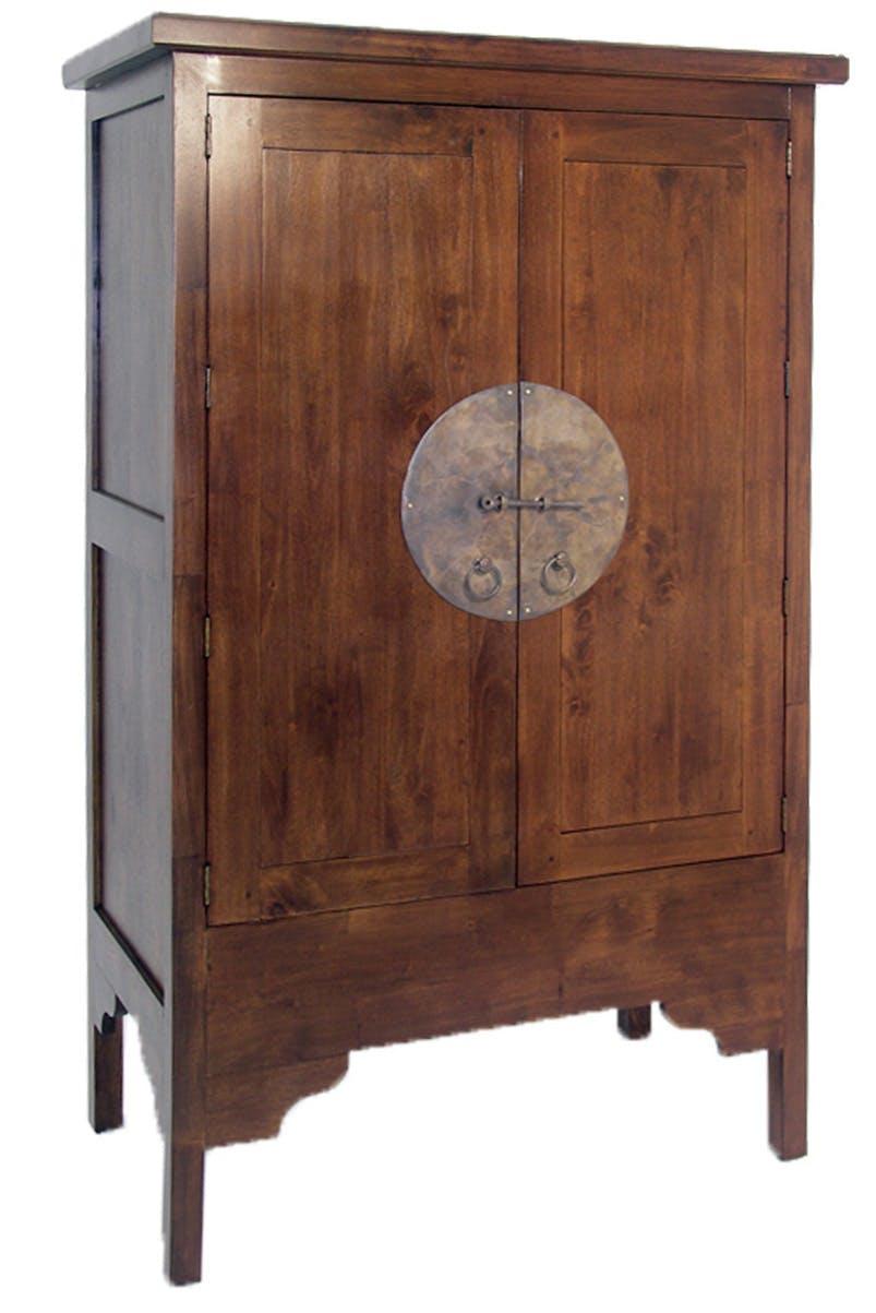Armoire asiatique hévéa 104x170cm MAORI
