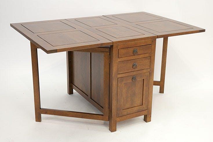 TABLE REPAS TRADITION rectangle pliante 90cm