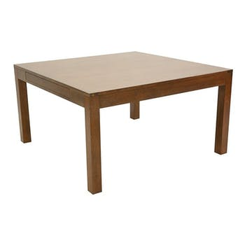 Table repas carrée extensible hévéa 140/240cm OLGA