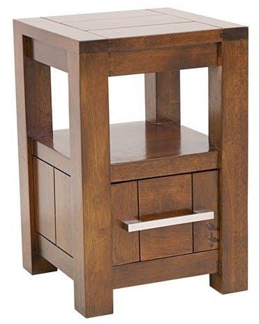 Table de chevet moderne 1 tiroir ATTAN
