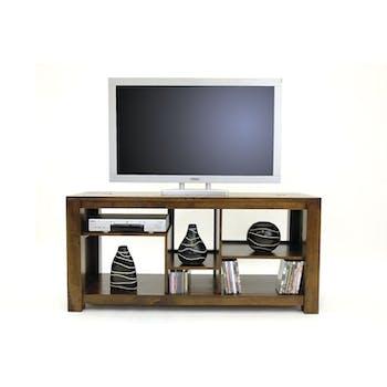 Meuble TV hévéa 140cm TESSA