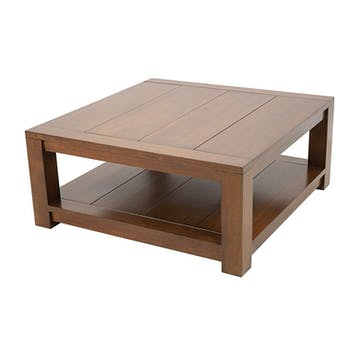 Table basse carrée ATTAN 80cm
