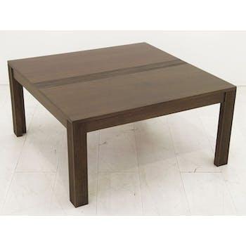 Table basse hévéa 80x80cm GALA