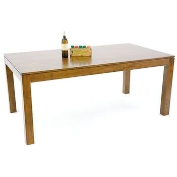 Table repas hévéa 180x100cm HELENA