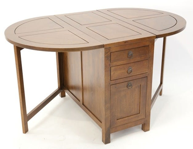 TABLE TRADITION ovale pliante 90cm