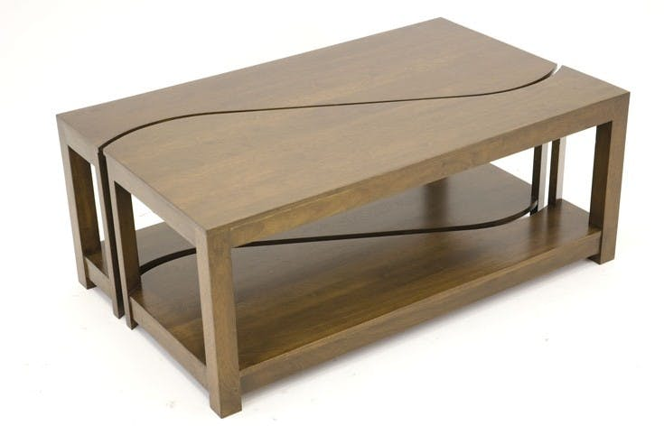 Table basse vague TRADITION 100 cm
