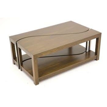 Table basse vague TRADITION 100 cm
