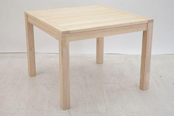 Table repas carrée 100cm ATTAN