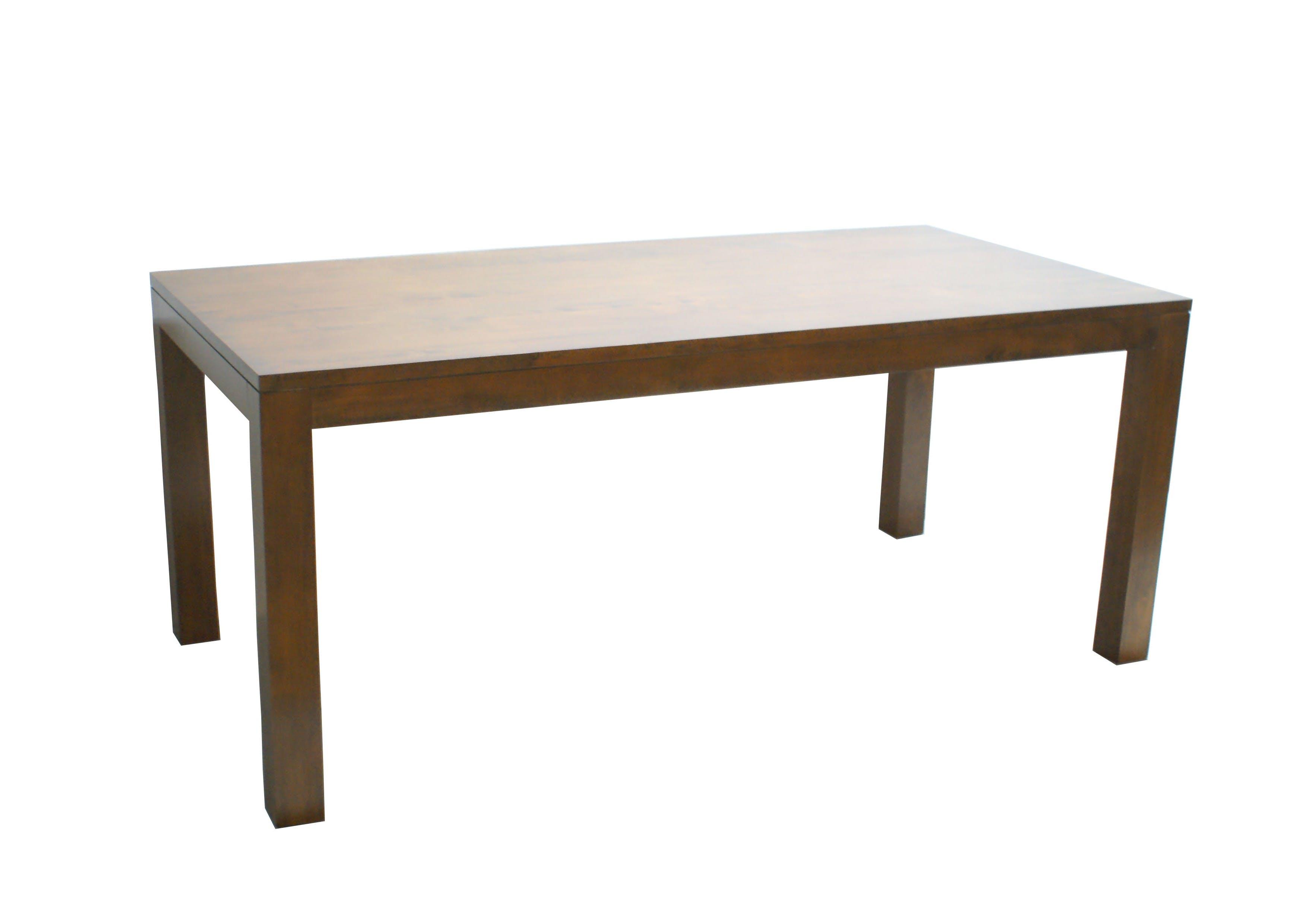 Table de repas Hévéa 180x90X75cm OLGA