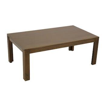 Table basse hévéa 110x60x40cm HELENA