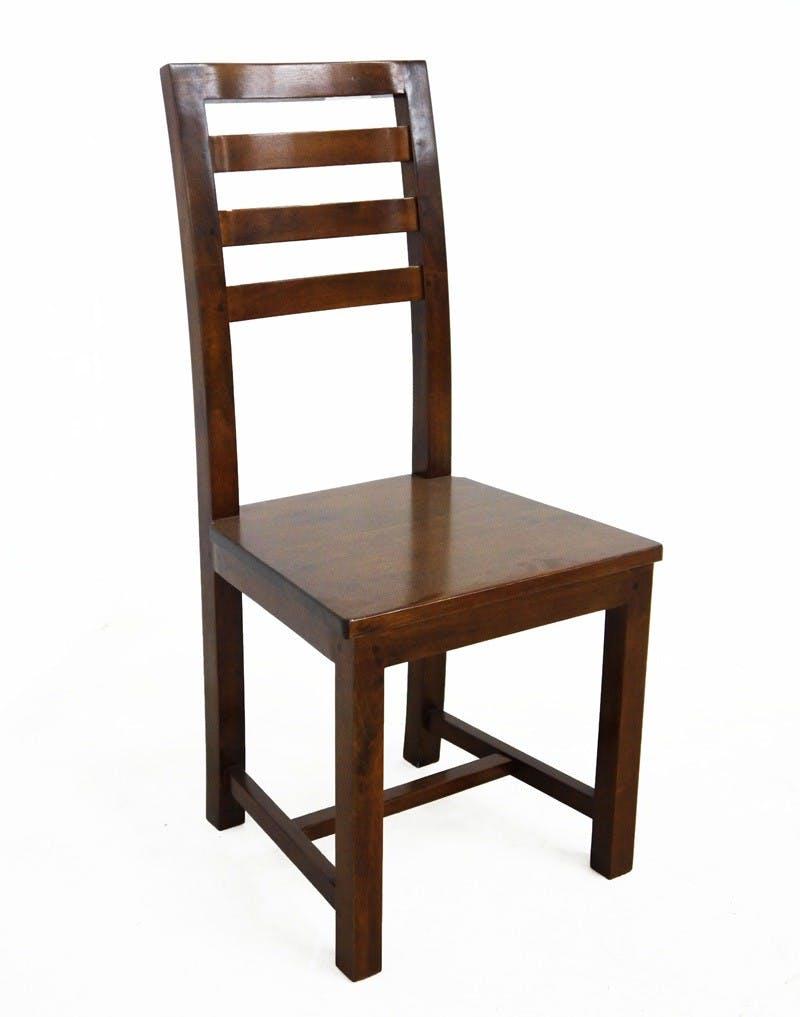 Chaise Hévéa 45x49x100cm HELENA