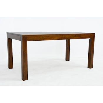 Table de repas rectangle Hévéa 160x90x76cm HELENA