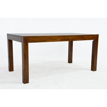 Table de repas rectangle Hévéa 160x90x76cm HELENA