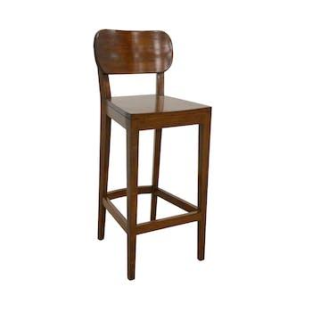 Chaise de Bar Hévéa 40x43x105cm TRADITION