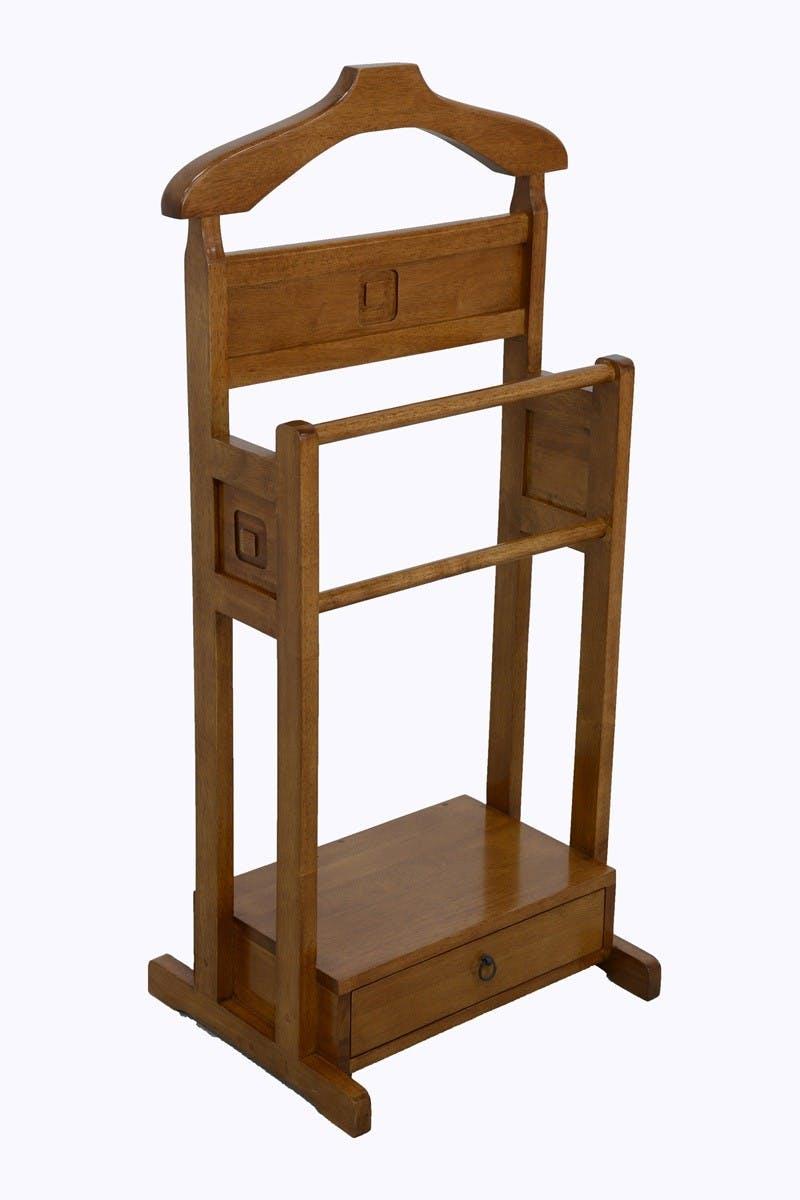 Valet de chambre 1 tiroir hévéa 50x36x100cm TRADITION