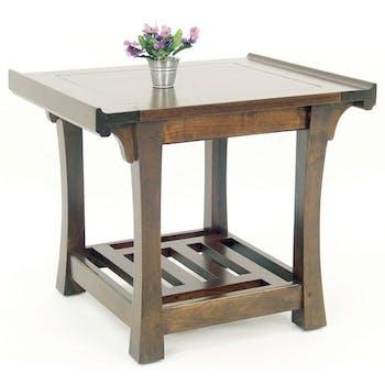 Table de chevet hévéa 60x50x51cm MAORI