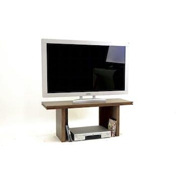 Meuble TV Hévéa 100x35x40cm HELENA