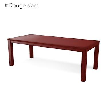 Table de repas Hévéa 220x100x76cm TRADITION