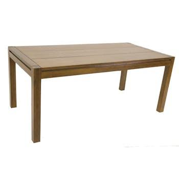 Table de repas Hévéa 180x90x76cm OLGA